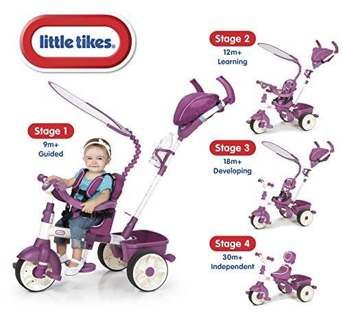 Triciclo Esporte 4 Em 1 Rosa Little Tikes Little Tikes Roxo