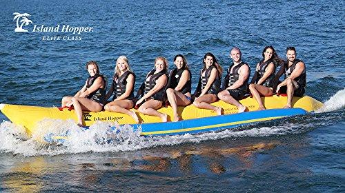 - Island Hopper 8 Passenger Inline Elite Class Heavy Commercial Banana Boat