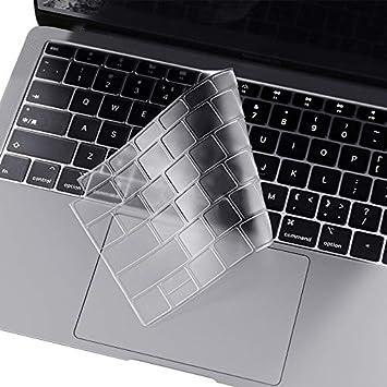 i-Buy Delgada película Transparente de TPU Material de Teclado para Macbook New Air 13 with Retina Display Touch ID (A1932)[Teclado Europea]
