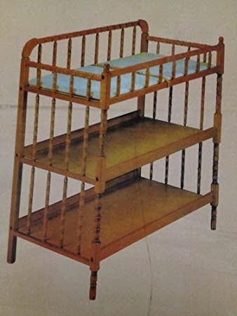 Delta Luv Changing Table Caramel Jenny Lind