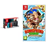 Nintendo Switch Neon with Donkey Kong Country: Tropical Freeze