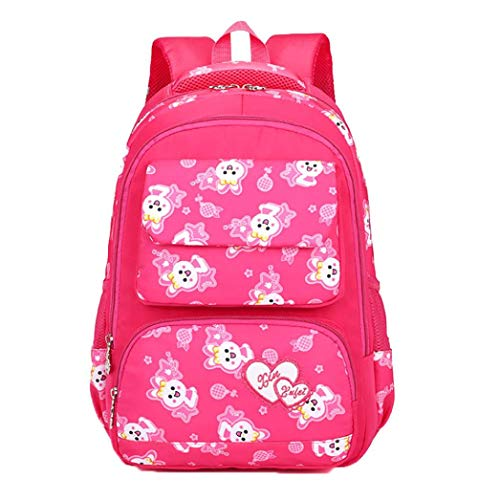Bag unbalance Girls Student Baby Colored Child Toddler backpack Pink Preschool Animal School School Box Insulated Hot Kids Stylish Multi Lunch Print Cartoon Boys Stylish Backpack vw75qH7