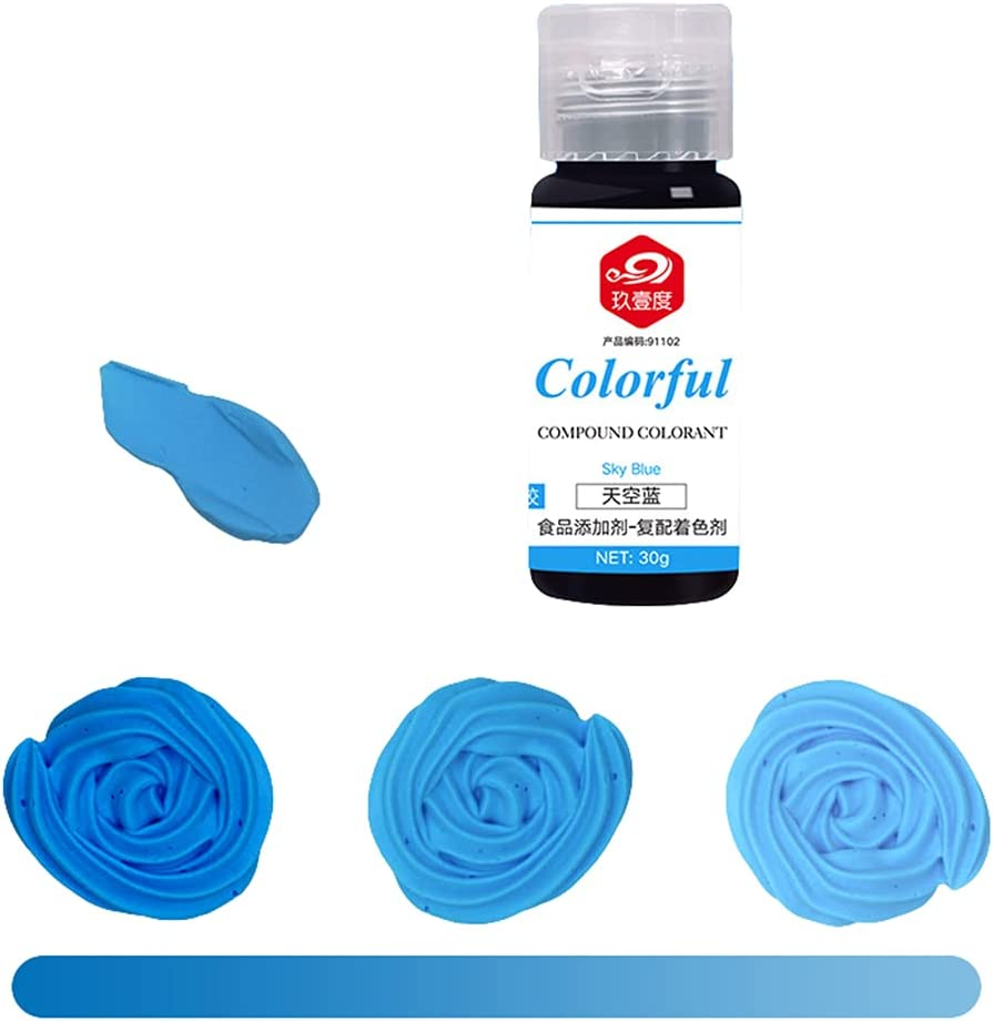 Guizhou 16 Color Cake Food Coloring Set Food Grade Vibrant Food Color Liquid for Baking Decorating Cooking Making DIY Supply Kit