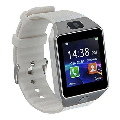 Pandaoo Reloj Inteligente Universal para móvil, Desbloqueado gsm, Bluetooth 4.0Reproductor de música, cámara Calendario...