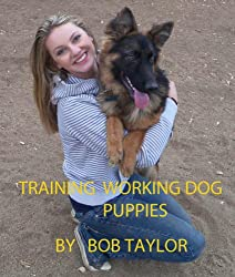 TRAINING WORKING DOG PUPPIES