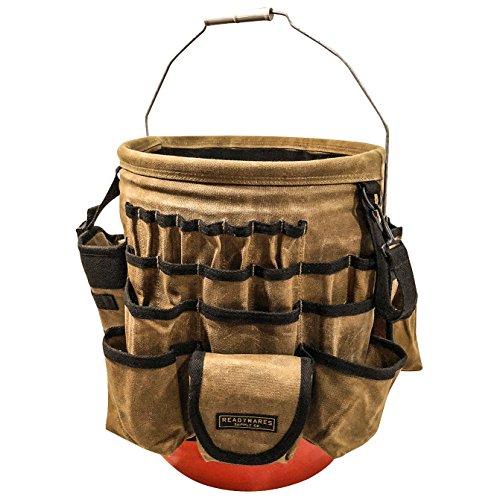 Pocket Bucket Tool Organizer (Readywares Waxed Canvas Tool Bucket Organizer)