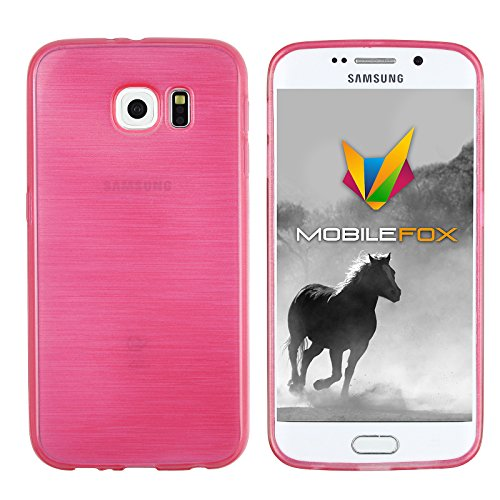 Mobilefox Paul Schutzhülle Soft Case Samsung Galaxy S6 Pink