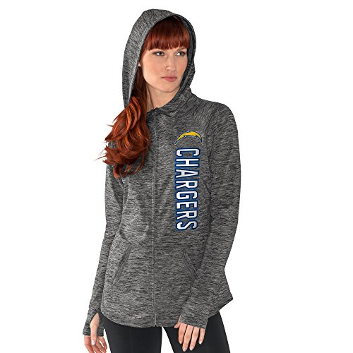 NFL San Diego Chargers Women's Recovery Full Zip Hoody – DiZiSports Store