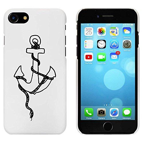Blanc 'Ancre de Navire' étui / housse pour iPhone 7 (MC00077136)