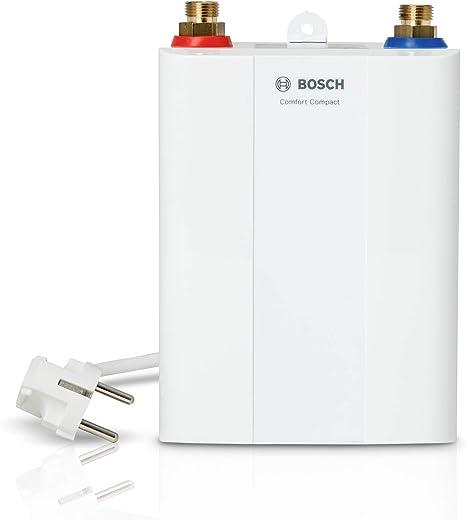 Bosch elektronischer Klein-Durchlauferhitzer Tronic 4000 4 ET, 3,6kW, kompakt, untertisch, steckerfertig