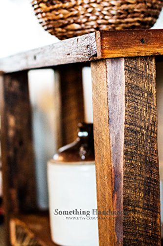 Barn wood Sofa or console table made from 1892 reclaimed barn wood by Something Handmade / Better Dressed Child (Image #2)