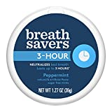 BREATH SAVERS Sugar Free Mints, Peppermint, 1.27 Ounce (Pack of 8) For Sale