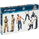 ITA5618 1:35 Italeri PT-109 Crew Figure Set [MODEL BUILDING KIT]