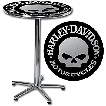 Amazon Com Harley Davidson Bar Amp Shield Logo Round Cafe