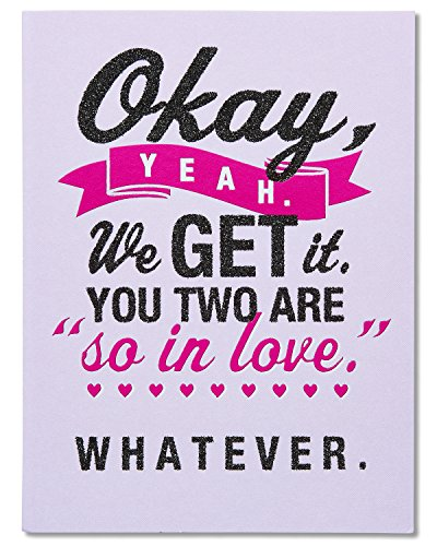 Funny Anniversary Card (American Greetings Funny Show-Offs Anniversary Card with Glitter (5801268))
