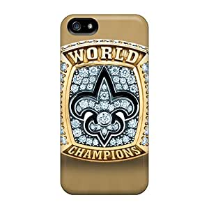 High-quality Durability Case For Iphone 5/5s(new Orleans Saints)