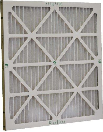 Glasfloss Industries HVP20221 Z-Line Series HV MERV 10 Pleated Filter, 12-Case by Glasfloss Industries