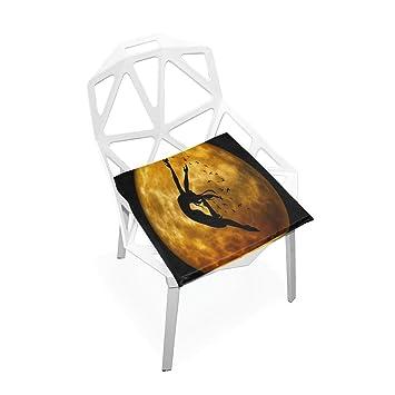 Amazon.com: Cojín de asiento con diseño de unicornio para ...