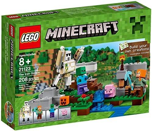 Galactica Lego Minecraft EL Golem DE Hierro: LEGO: Amazon.es: Juguetes y juegos
