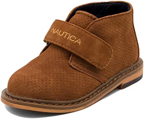 Nautica Kids Chukka Boot Boys Adjustable Strap Dress Bootie (Toddler/Little Kids)