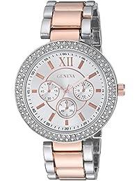 FMDG003 20mm Alloy Two Tone Watch Bracelet
