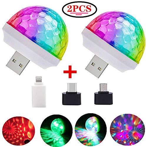 USB Mini Disco Lights