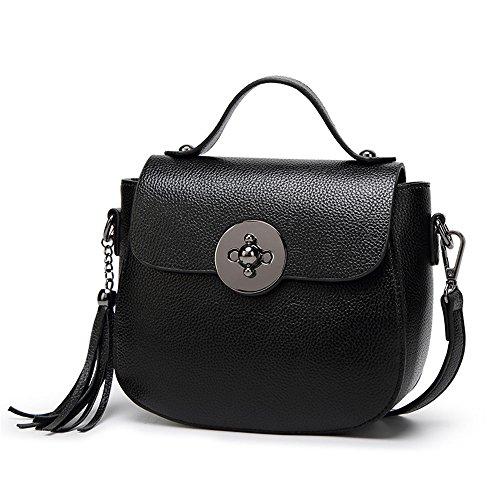 Color Nuevo Coinciden Negro GWQGZ Con Bolsa De El Hombro 7qExnUw6Bn