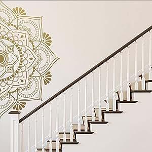 Religión Mandala Etiqueta de la pared decorativa Decoración ...