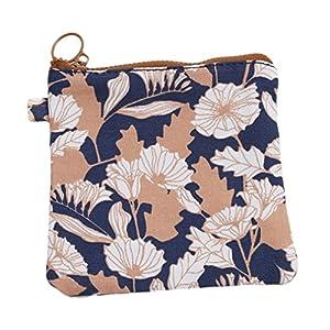UNKE Sanitary Napkins Bag Menstrual Cup Pouch Nursing Pad Holder Washable Organizer Storage,Brown