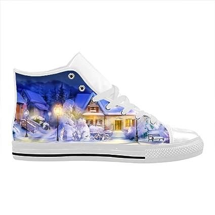 Cool Men shoes Aquila - Zapatillas de Piel para Hombre, diseño navideño, Hombre,