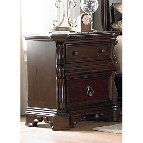 Liberty Furniture Arbor Place Bedroom Night Stand, Brownstone ()