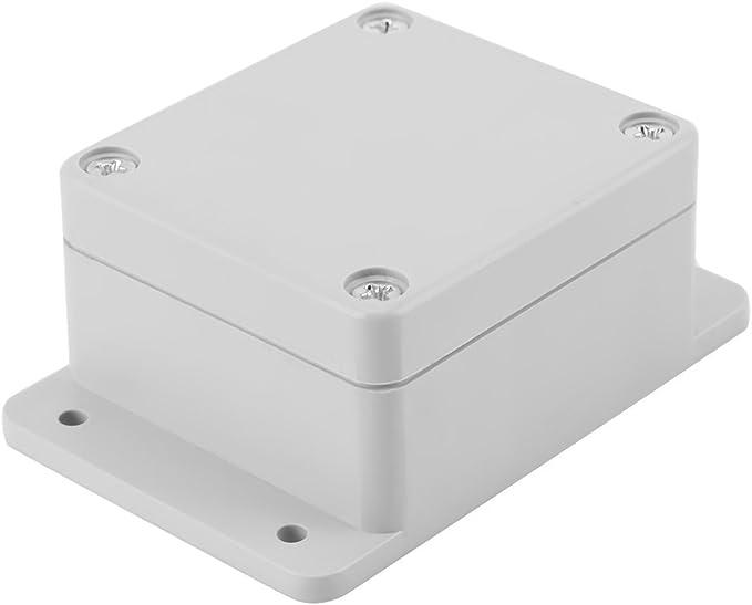 Caja de armario eléctrico IP65, Caja de conexiones eléctrica de plástico ABS, Caja de instrumentos de caja de proyecto exterior (89 * 59 * 35mm): Amazon.es: Bricolaje y herramientas