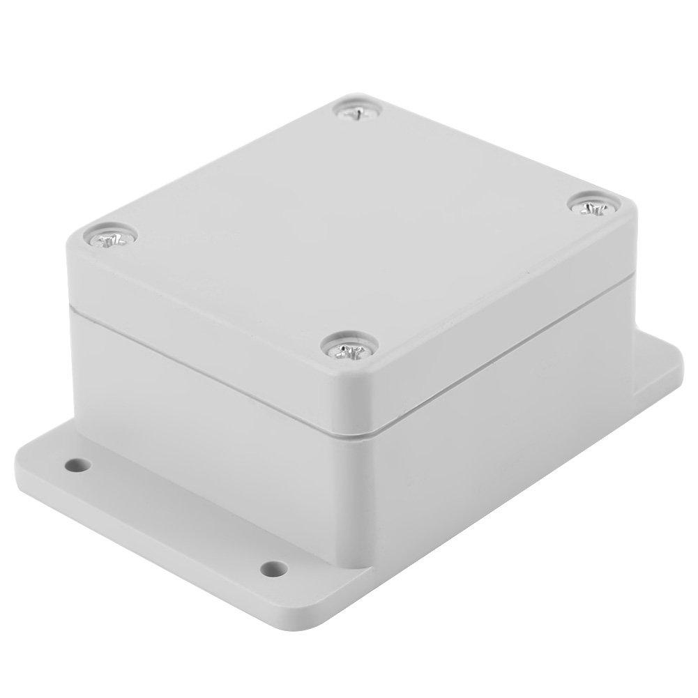Keenso IP65 Bo/îtier de Connexion Etanche Connecteur de C/âble Bo/îtier en Plastique ABS avec Accessoires 200 * 120 * 75mm Bo/îte de Jonction Electrique Ext/érieure