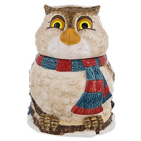 Disney Parks Happy Holidays Sugar Bowl Friend Owl from -