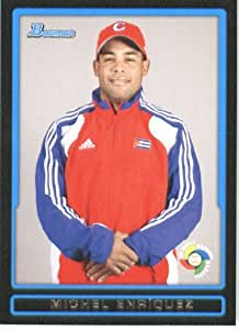 2009 Bowman Draft WBC Prospects Baseball Card #BDPW8 Michel Enriquez Team Cuba World Baseball Classic