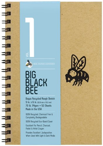 Bee Paper Company Big Black Bee Bogus Pad