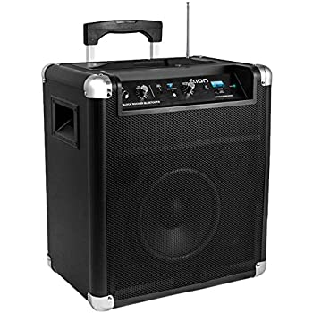 ion block rocker bluetooth portable speaker system home audio theater. Black Bedroom Furniture Sets. Home Design Ideas