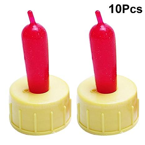Yardwe - Botellas de Chupete de Goma Flexible para Chupete ...