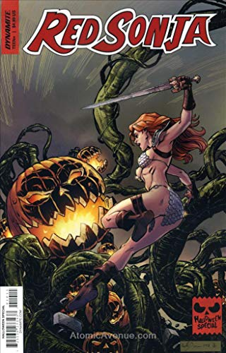 Red Sonja Halloween Special One-Shot #2018 VF/NM ; Dynamite comic book]()
