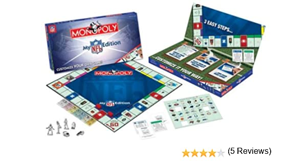 USAopoly My NFL Edition Monopoly: Amazon.es: Juguetes y juegos