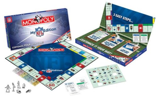 (USAopoly My Nfl Edition Monopoly)