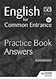 English for Common Entrance 13+ Practice Book Answers
