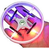 NiGHT LiONS TECH Anti-Crash Mini RC Remote Control Quadcopter Drone