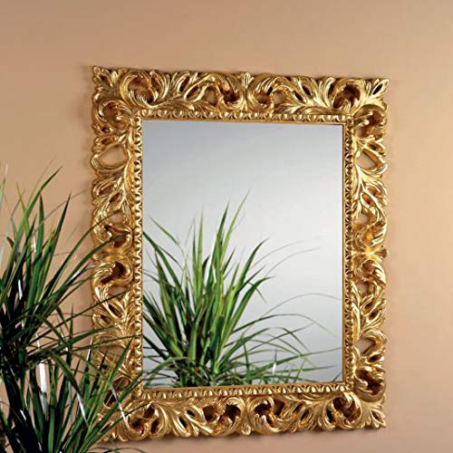 4f318f608da Image Unavailable. Image not available for. Color  Ornate Antique Gold Wall  Mirror
