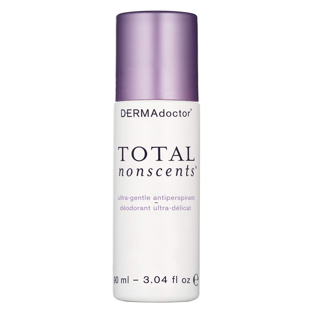 DERMAdoctor Total NonScents Ultra-Gentle Antiperspirant, 3.04 fl oz