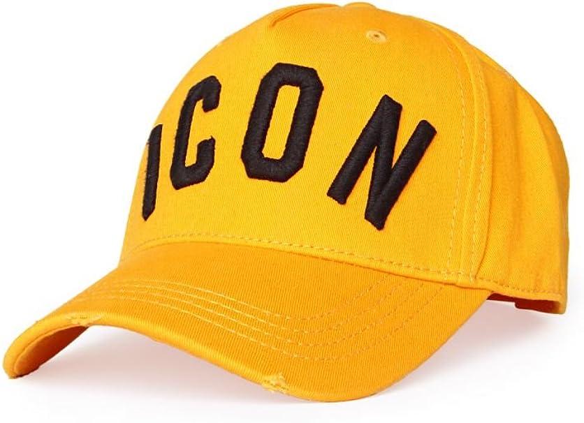 Dsquared - Gorra de béisbol - para Hombre Amarillo Talla única ...