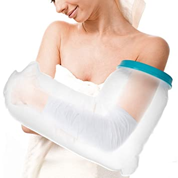 Doact Waterproof Arm Cast Cover Protector for Shower Bath, Keeps Casts  Bandages Dry, Durable Reusable