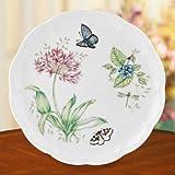 """Lenox Butterfly Meadow Blue Butterfly 10.75"""" Dinner Plate [Set of 4]"""