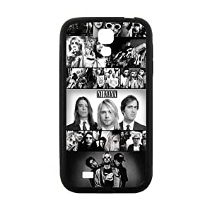 Zyhome Galaxy S4 Funny Music Band Nirvana Member Checked Pattern Case Cover for SamSung Galaxy S4 I9500 (Laser Technology)