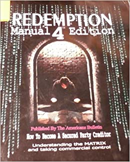 Redemption manual 4. 5 edition download.